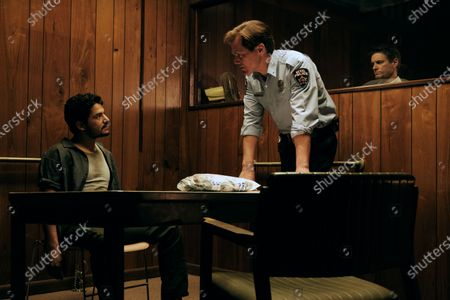 Bobby Soto as Valentin, Michael Shannon as Chief Moore and Shea Whigham as The Man