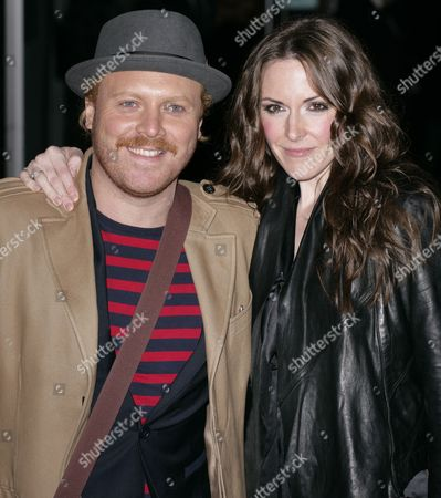 Leigh Francis and Jill Carter