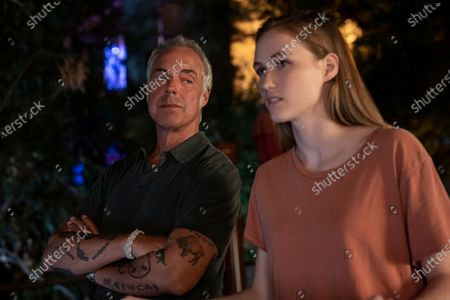 Titus Welliver as Harry Bosch and Madison Lintz as Maddie Bosch