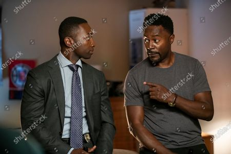 Stock Image of Jamie Hector as Jerry Edgar