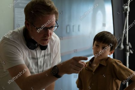 Stock Picture of Andrew Stanton Director and Duncan Joiner as Cole