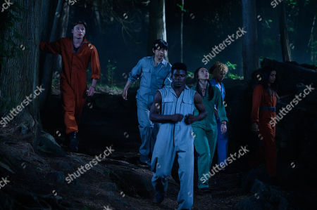 Stock Image of Mickeey Nguyen as Mags 2, Phillip Lewitski as Apollo 4, Akiel Julien as Bohdi 2, Devyn Nekoda as Sage 5, Robyn Alomar as Aliyah 5 and Humberly Gonzalez as Brooklyn 2