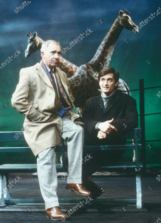 Stock Picture of Nigel Hawthorne. Roger Rees
