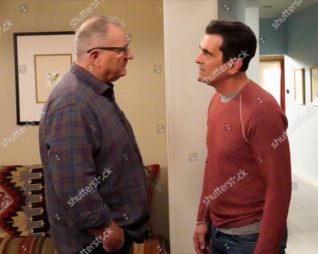 Ed O'Neill as Jay Pritchett and Ty Burrell as Phil Dunphy