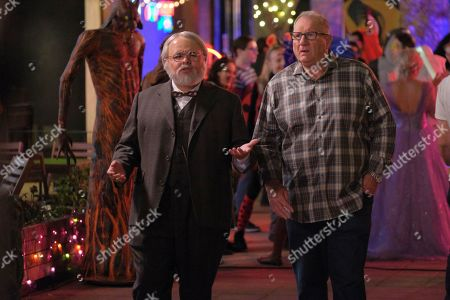 Stock Picture of Rico Rodriguez as Manny Delgado and Ed O'Neill as Jay Pritchett