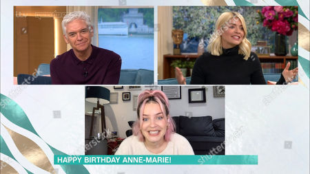Phillip Schofield, Holly Willoughby and Anne-Marie Rose Nicholson