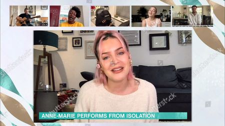 Anne-Marie Rose Nicholson performs her new single live
