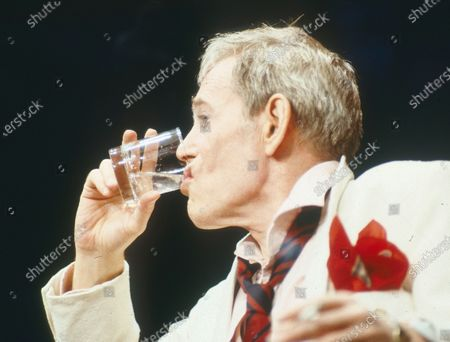 Editorial photo of 'Jeffrey Bernard is Unwell' Play performed at the Apollo Theatre, London, UK 1989 - 07 Apr 2020