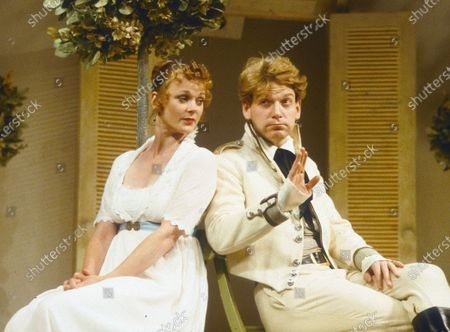 Stock Photo of Samantha Bond Kenneth Branagh