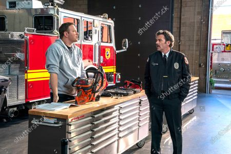 Stock Image of Jim Parrack as Judd Ryder and Billy Burke as Billy Tyson