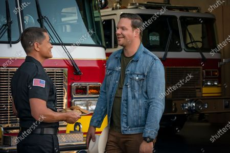 Rob Lowe as Owen Strand and Jim Parrack as Judd Ryder