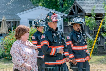 Patrika Darbo as Ellen, Julian Works as Mateo Chavez, Rob Lowe as Owen Strand and Brian Michael Smith as Paul Strickland