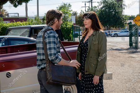 Jon Foster as Dustin Shepard and Liv Tyler as Michelle Blake