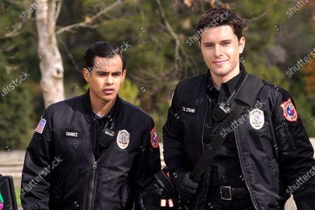 Julian Works as Mateo Chavez and Ronen Rubenstein as T.K. Strand