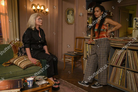 Deborah Harry as Deborah Harry and Zoe Kravitz as Robyn 'Rob' Brooks