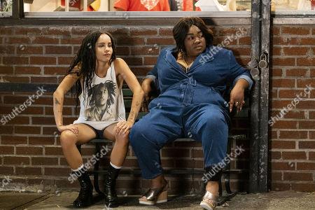 Zoe Kravitz as Robyn 'Rob' Brooks and Da'Vine Joy Randolph as Cherise