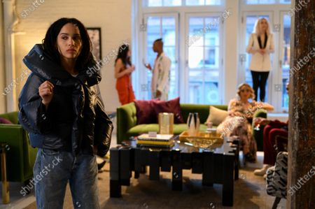Zoe Kravitz as Robyn 'Rob' Brooks and Chloe Fineman as Clara