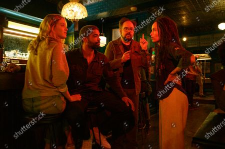 Dana Drori as Lily, Kingsley Ben-Adir as Russell 'Mac' McCormack, Brian Silliman as The Hammer and Zoe Kravitz as Robyn 'Rob' Brooks