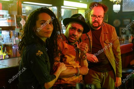 Zoe Kravitz as Robyn 'Rob' Brooks, Rainbow Sun Francks as Cameron Brooks and Brian Silliman as The Hammer