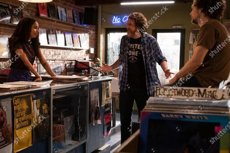 Zoe Kravitz as Robyn 'Rob' Brooks, Brian McCarthy as Lionel and David H. Holmes as Simon Miller