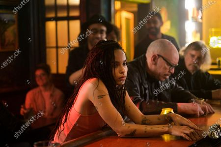 Zoe Kravitz as Robyn 'Rob' Brooks, Rainbow Sun Francks as Cameron Brooks and Kingsley Ben-Adir as Russell 'Mac' McCormack