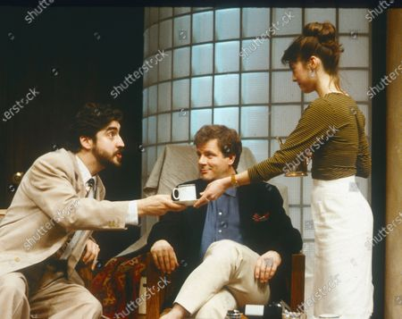 Editorial picture of 'Speed the Plow' Play performed in the Lyttelton Theatre, National Theatre, London, UK 1989 - 07 Apr 2020