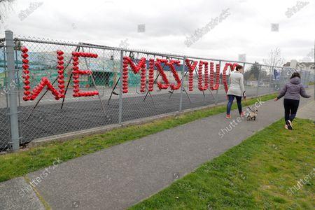 Editorial photo of Virus Outbreak Washington State, Tacoma, United States - 07 Apr 2020
