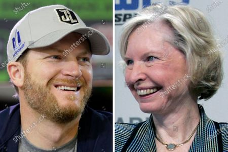 S showing Dale Earnhardt Jr., in 2017, and Janet Guthrie, in 2006. Earnhardt is among the new nominees for NASCAR's next Hall of Fame class. Guthrie, the first woman to run in the Indianapolis 500, Daytona 500 and Coca-Cola 600, returns as a nominee to the Landmark category after a one-year absence