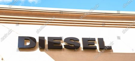 Diesel retail stores at the outdoor mall Cabazon Outlets are open but largely empty due to Covid-19 Corona virus fears in Cabazon, California John Green/CSM