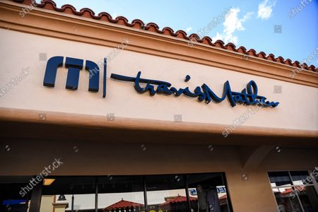 Few customers at the Travis Matthew retail stores at the outdoor mall Cabazon Outlets are open but largely empty due to Covid-19 Corona virus in Cabazon, California John Green/CSM