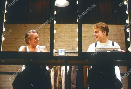 Editorial picture of 'A Life in the Theatre' Play performed at the Theatre Royal, Haymarket, London, UK 1989 - 08 Apr 2020