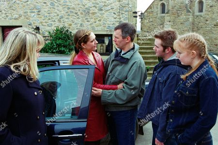 Editorial picture of 'Emmerdale' TV Show UK  - Apr 2002