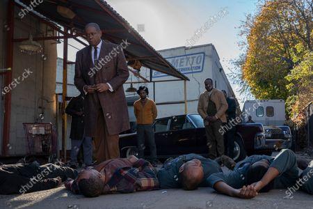 Forest Whitaker as Bumpy Johnson, Elvis Nolasco as Nat Pettigrew and Markuann Smith as Junie Byrd