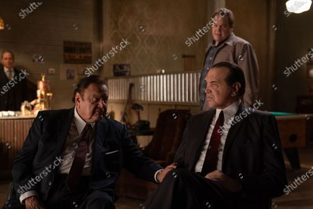 Paul Sorvino as Frank Costello, Vincent D'Onofrio as Vincent 'Chin' Gigante and Chazz Palminteri as Joe Bonanno