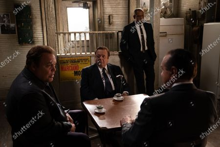 Vincent D'Onofrio as Vincent 'Chin' Gigante, Paul Sorvino as Frank Costello, Forest Whitaker as Bumpy Johnson and Chazz Palminteri as Joe Bonanno