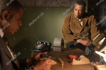 Stock Photo of Forest Whitaker as Bumpy Johnson and Erik LaRay Harvey as Del Chance