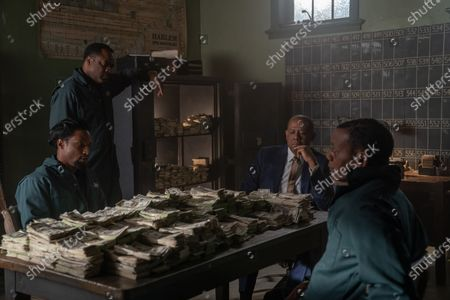 Stock Image of Elvis Nolasco as Nat Pettigrew, Markuann Smith as Junie Byrd, Forest Whitaker as Bumpy Johnson and Erik LaRay Harvey as Del Chance