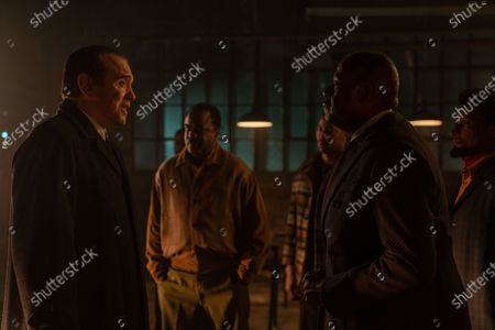 Stock Picture of Chazz Palminteri as Joe Bonanno, Markuann Smith as Junie Byrd, Erik LaRay Harvey as Del Chance, Elvis Nolasco as Nat Pettigrew and Forest Whitaker as Bumpy Johnson
