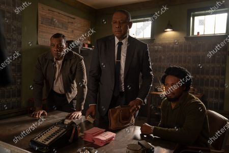 Erik LaRay Harvey as Del Chance, Forest Whitaker as Bumpy Johnson and Elvis Nolasco as Nat Pettigrew