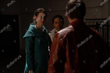 Lucy Fry as Stella Gigante and Kelvin Harrison Jr. as Teddy Greene