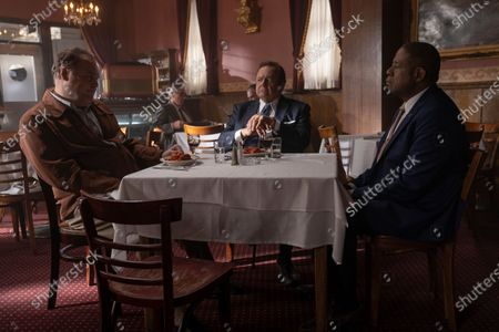 Vincent D'Onofrio as Vincent 'Chin' Gigante, Paul Sorvino as Frank Costello and Forest Whitaker as Bumpy Johnson