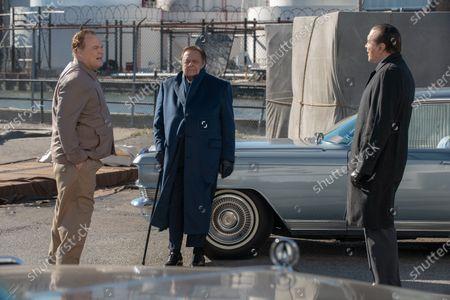 Vincent D'Onofrio as Vincent 'Chin' Gigante, Paul Sorvino as Frank Costello and Chazz Palminteri as Joe Bonanno