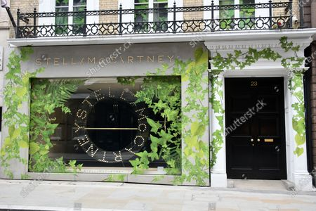 Stella McCartney shut in locked-down London, as exclusive shops and hotels shut and are boarded up in closed-down London, as break-in fears grow and stores anticipate civil unrest.