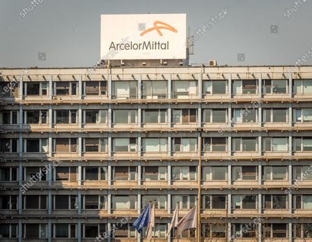 Editorial image of ArcelorMittal cuts the production in Europe, Brussels, Belgium - 08 Apr 2020