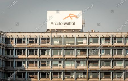 General view of ArcelorMittal in the port of Ghent ArcelorMittal group cuts the production in Europe due to the corona crisis (COVID-19) ArcelorMittal is the world's largest steel producer,Lakshmi Mittal (owner of Mittal Steel) is the chairman and CEO, The company will mainly produce less flat steel. This type of steel is often supplied to automakers, but they shut down their factories in Europe because of the corona virus. Lakshmi N Mittal Assistance relief in Emergency situation in India to stop the coronavirus.