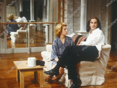 Editorial image of 'Burn This' Play performed at Hampstead Theatre, London, UK 1990 - 09 Apr 2020