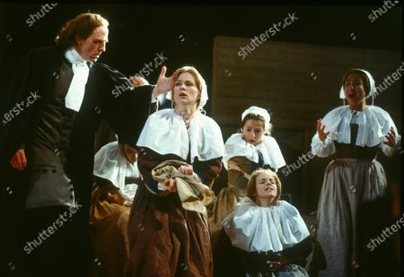 Editorial picture of 'The Crucible' Play performed in the Olivier Theatre, National Theatre, London, UK 1990 - 09 Apr 2020