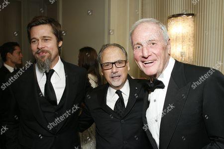 Brad Pitt, Jerry Inzerillo, Jerry Weintraub