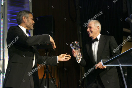 George Clooney and Jerry Weintraub