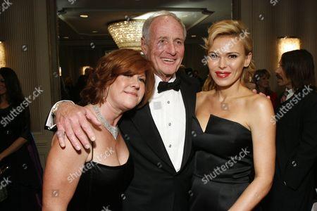 Susan Ekins, Jerry Weintraub and Diana Jenkins